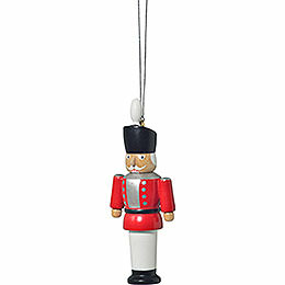 "Tree Ornament  -  ""Nutcracker Red""  -  8cm / 3.1 inch"