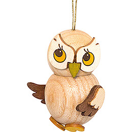Tree Ornament  -  Owl Child natural  -  4cm / 1.6 inch