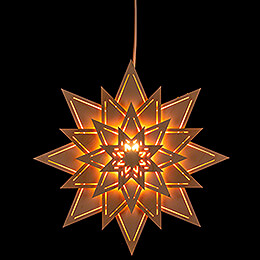 Window Picture  -  Star with Light Slits  -  30cm / 11.8 inch