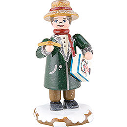 Winter Children Dad Goes Shopping  -  8cm / 3 inch