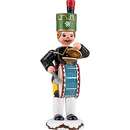 Winter Children Miner Kettledrum  -  9cm / 3.5 inch